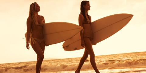 Surfcamps für Frauen