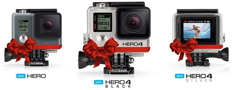 Weihnachtsgeschenke für Surfer : Go-Pro Actioncam