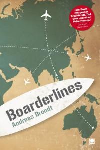 Weihnachtsgeschenke für Surfer: Surfbücher Boarderlines von Andreas Brendt