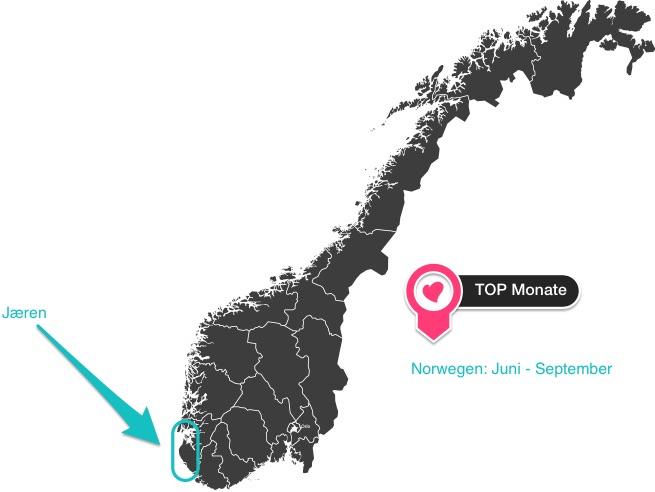 wo kann man in norwegen gut surfen