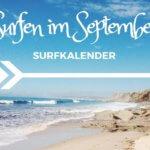 Wo kann ich im September surfen?