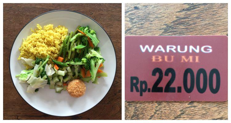 Vegane Restaurants in Canggu- Bali - Warung Bu Mi