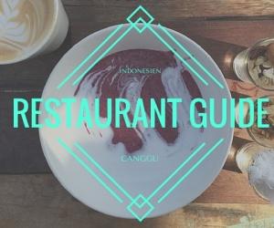 Veganer Restaurant Guide für Canggu