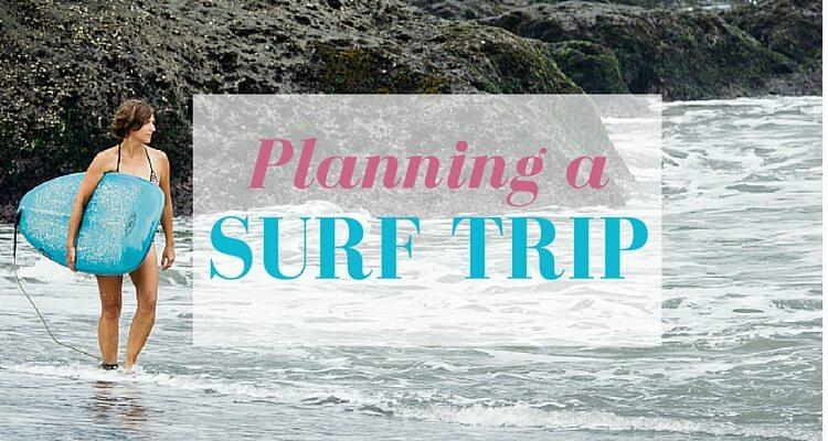 Surfurlaub planen - Titelbild