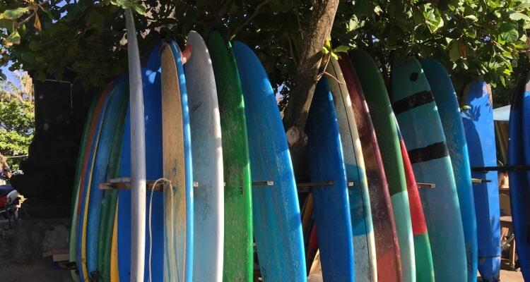 Fehler beim Surfen lernen: Das Brett nicht kontrollieren!