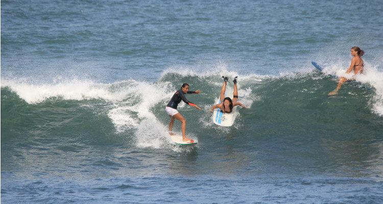 Fehler beim Surfen lernen: Die Vorfahrtregeln missachten!
