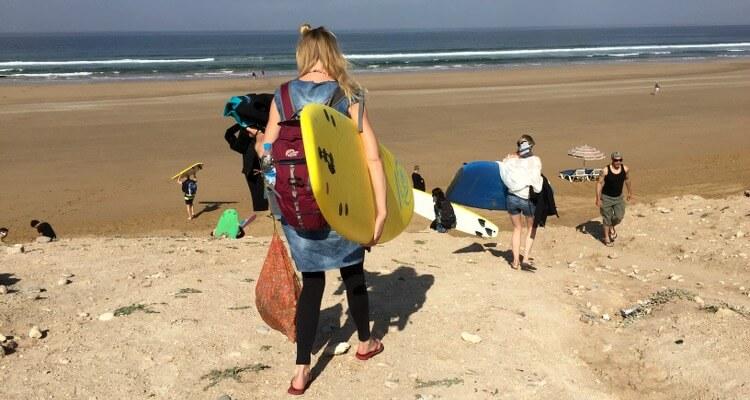 Fehler beim Surfen lernen: Sich das Surfen alleine beizubringen!