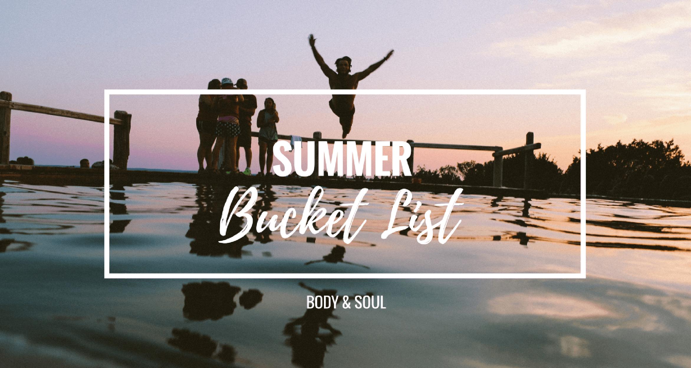 Summer Bucket List   Was du diesen Sommer unbedingt tun solltest