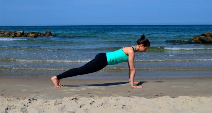 Yoga für Surfer_Plank