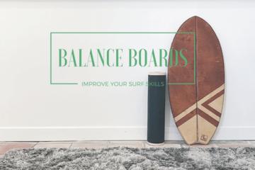 balance board surfen